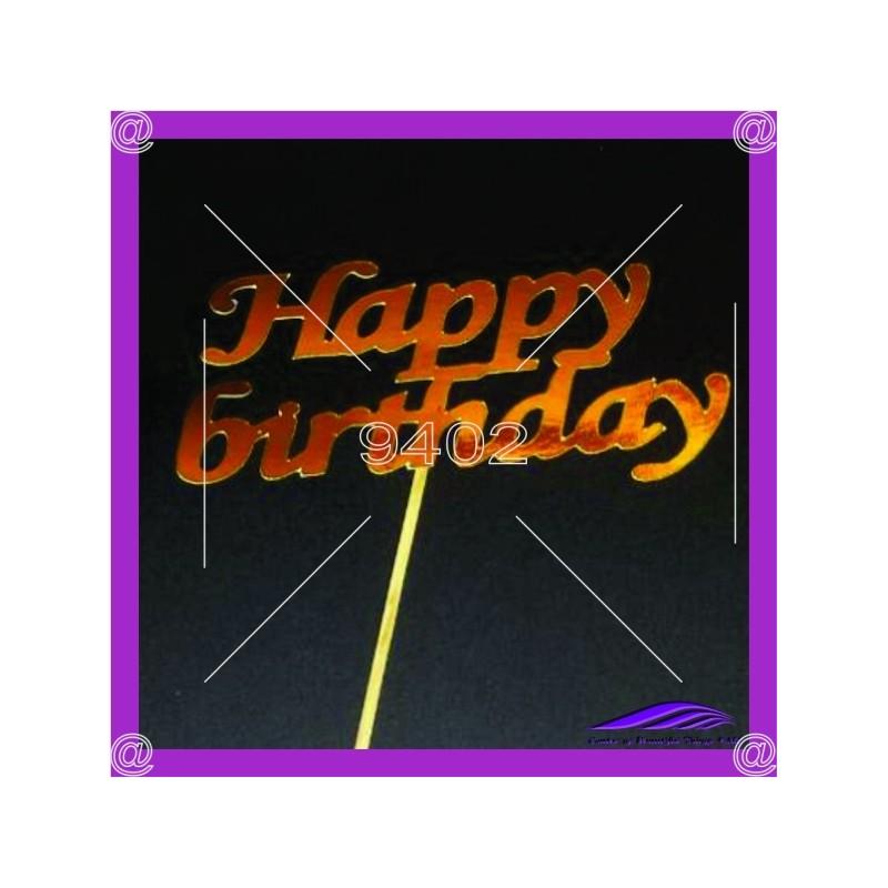Tekstualni toper Happy birthday 1