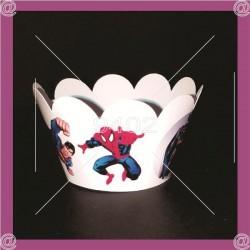 Cupcake printed wrapper, N010