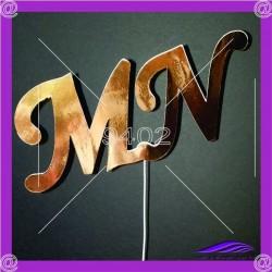 Tekstualni toper Inicijali MN