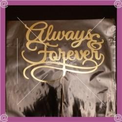 """Tekstualni toper """"Always & Forever"""""""