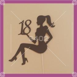 Toper -Siluete 10 Devojka 1