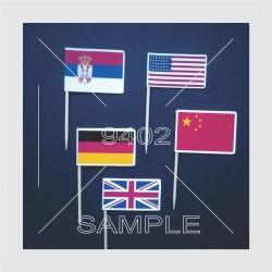 Printani toperi zastavice N51 USA