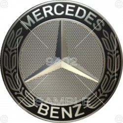 Picture, Mercedes Sign,...