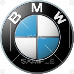 Picture, BMW sign,...