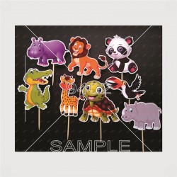 Printed Cute Animals topers...