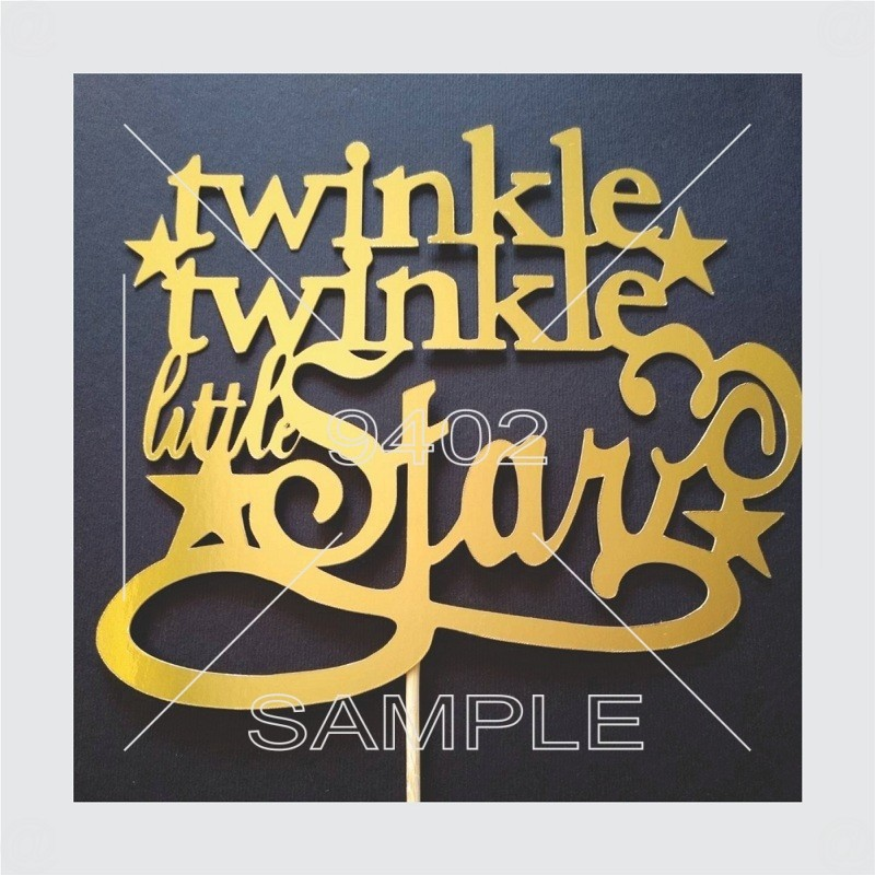 """Twinkle twinkle"" zlatni"