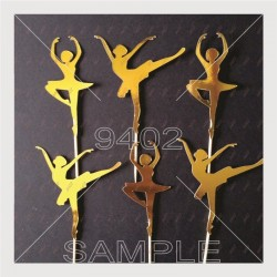 Pack of 6 Topers Ballerina...