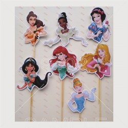 Pack of 7 Princess  themed...