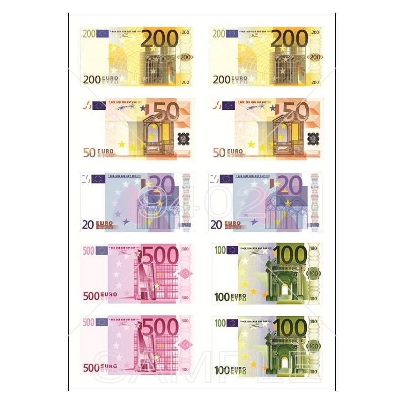 Novčanice 20,50,100,200,500 eur 019